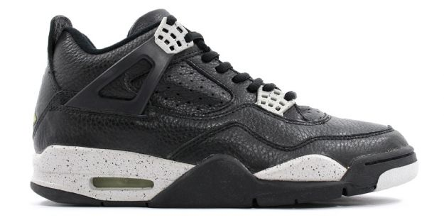 1999 nike jordan 4 retro black cool grey shoes