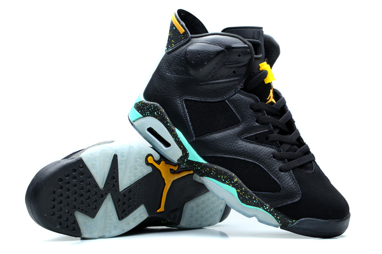 New Nike Jordan 6 Retro Shoes Dark Blue Green