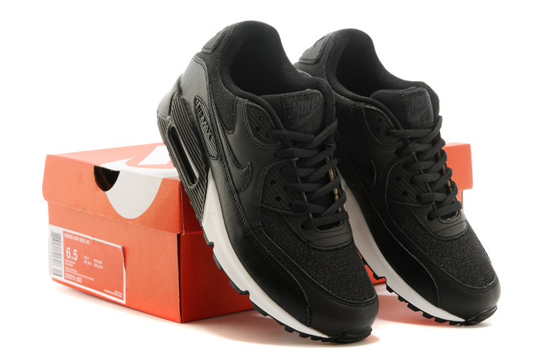 Nike Air Max 90 All Black Running Shoes