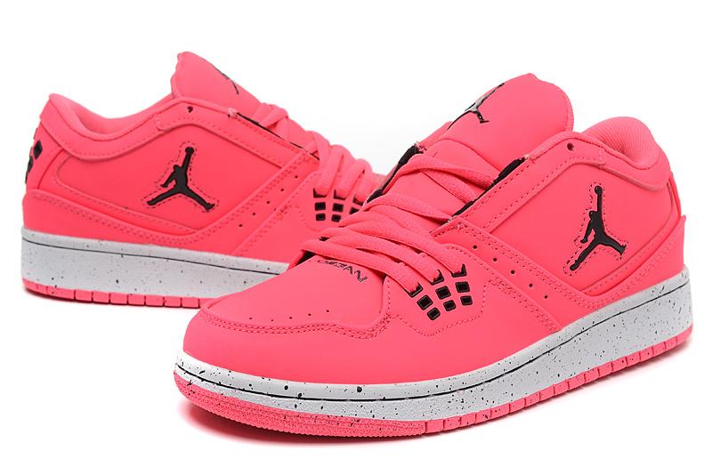 best sneakers 0ef43 f6992 New 2015 Nike Air Jordan 1 Flight Low Pink Shoes