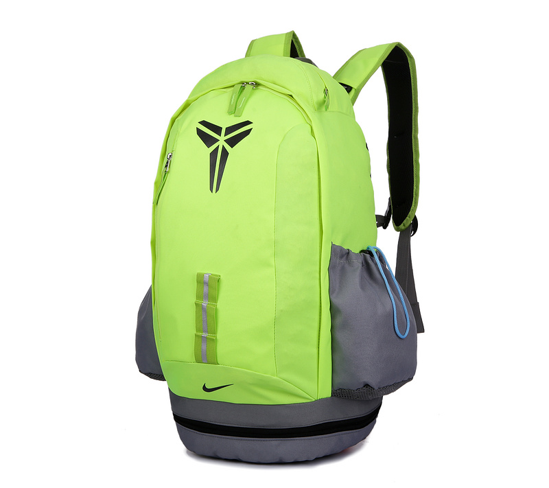 2015 Nike Kobe Fluorscent Green Grey Backpack