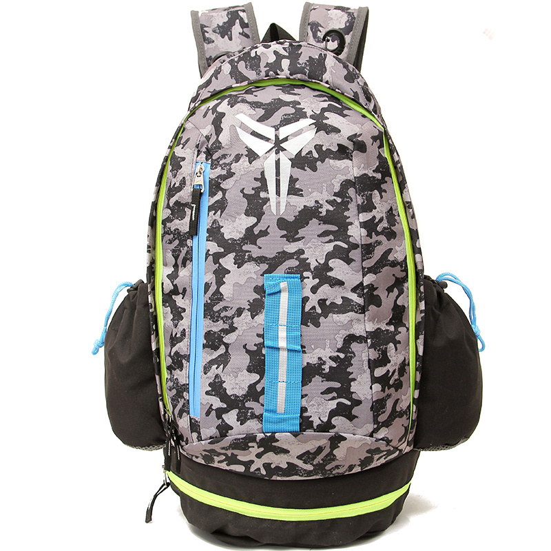 2015 Nike Kobe Grey Fluorscent Green Backpack