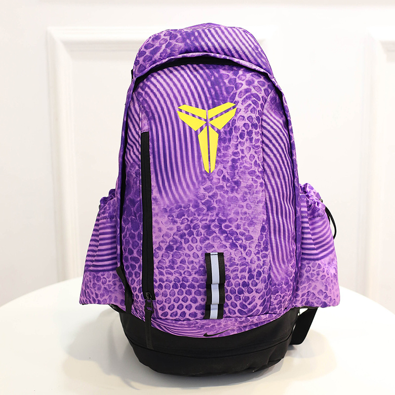 2015 Nike Kobe Purple Black NBA Backpack