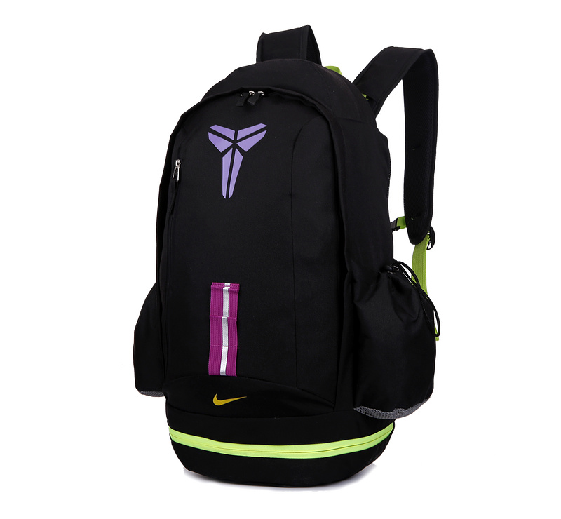 2015 Nike Kobe Sea Black Flurorscent Green Backpack