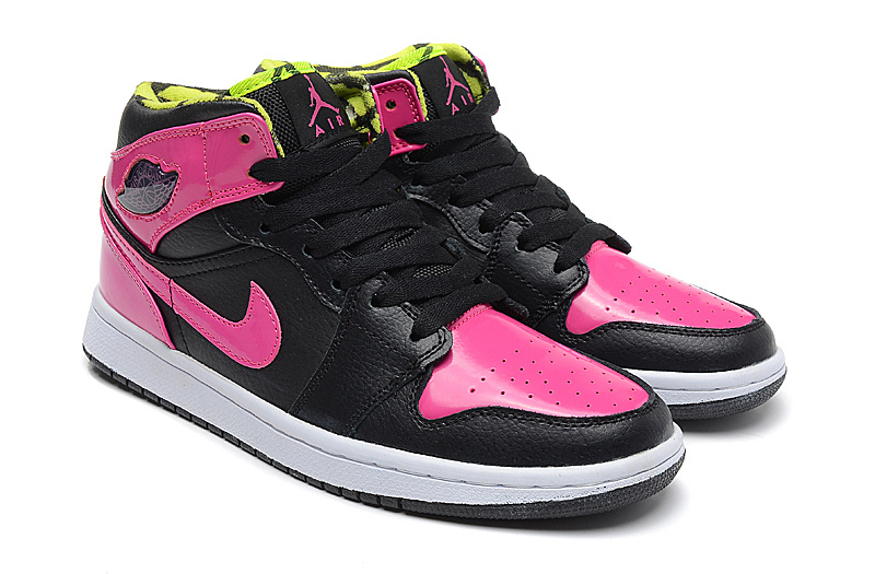 New Nike Air Jordan 1 Phat GS Pink Black Shoes