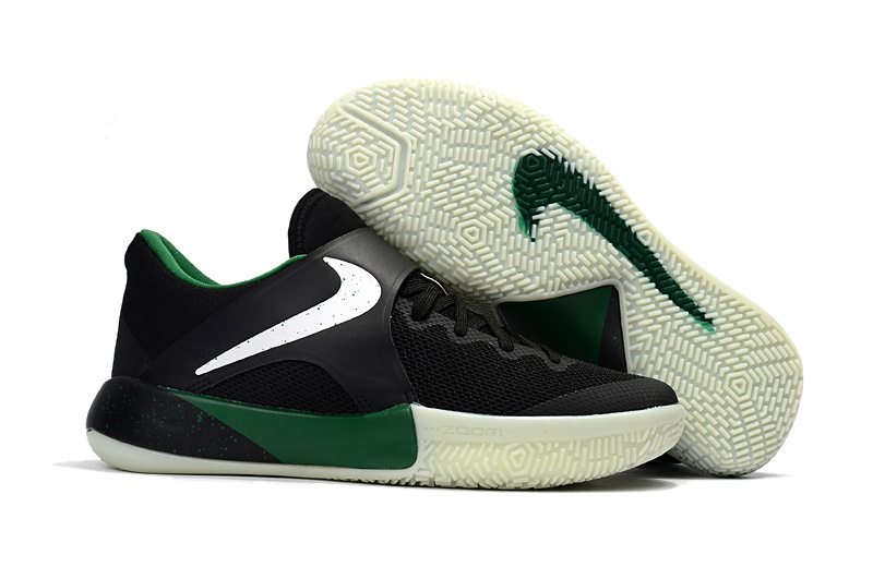 2017 Nike Air Zoom Actual Combat Black Green White Shoes