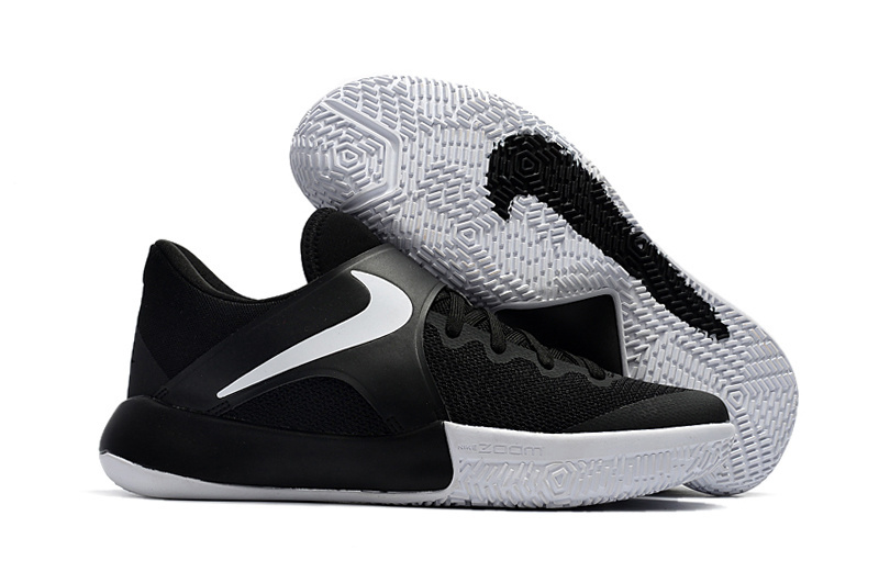 2017 Nike Air Zoom Actual Combat Black White Shoes