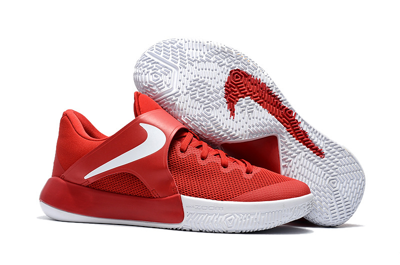 2017 Nike Air Zoom Actual Combat Red White Shoes
