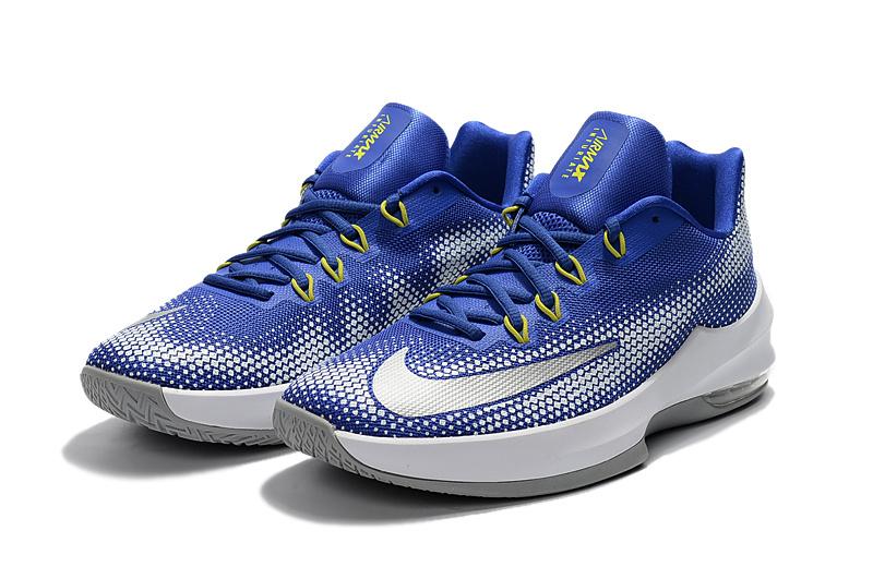 56dbccb6bf77 ... Black 2017 Nike Air Zoom Cushion Basketball Shoes Blue White 2017 Nike  Air Max ...