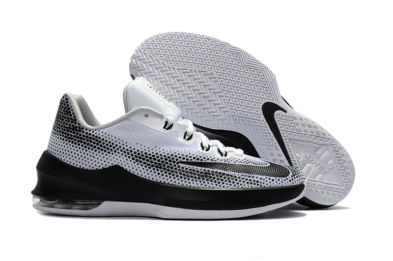 nuevo estilo de vida mejor online salida de fábrica 2017 Nike Air Zoom Cushion Basketball Shoes White Grey Black [NKOBE294] -  $82.00 : Original Kobe Shoes, Cheap Kobe Shoes