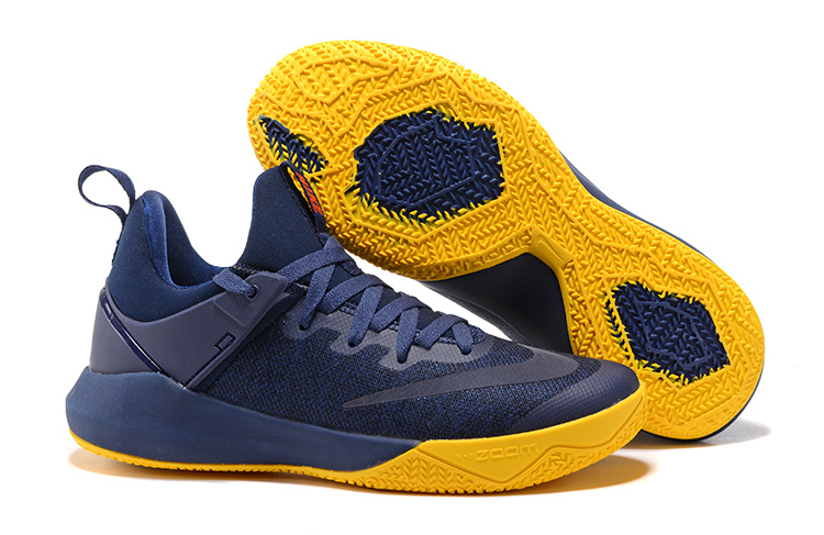2017 Nike Air Zoom Team Royal Blue Yellow Shoes