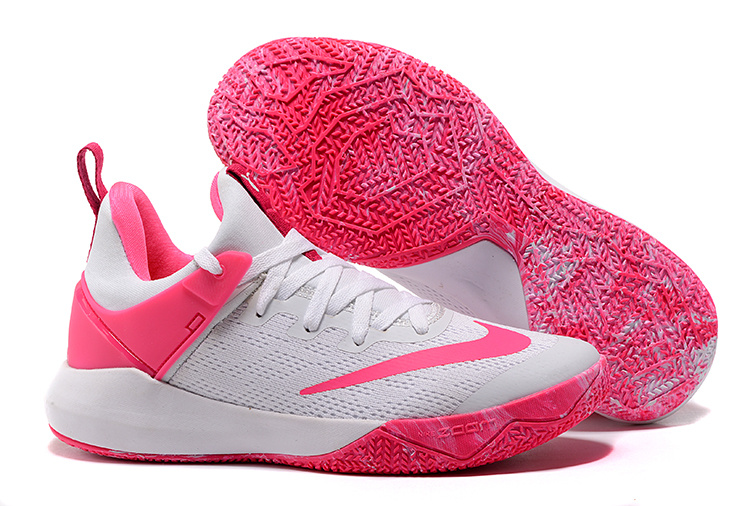 2017 Nike Air Zoom Team White Pink Shoes