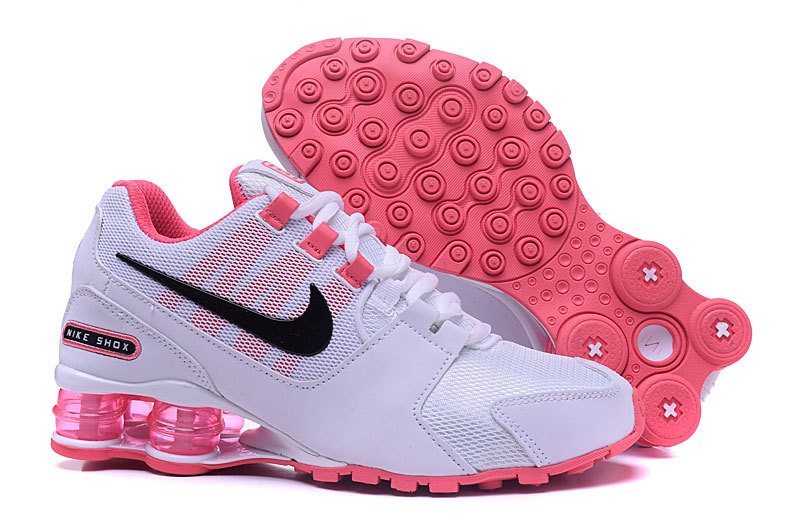 910c54f45a2 ... order 2017 nike shox current white pink shoes for women 042c2 0de50 ...