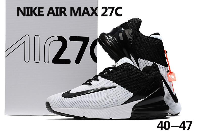 22ce375fb158c8 2018 Men Nike Air Max 27C White Black Shoes  18kobe10707  -  73.00 ...
