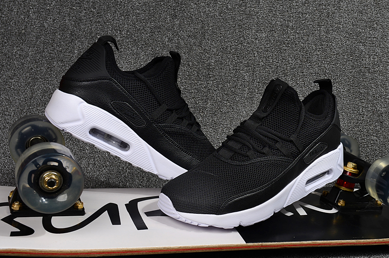 2018 Men Nike Air Max 90 EZ Black White Shoes