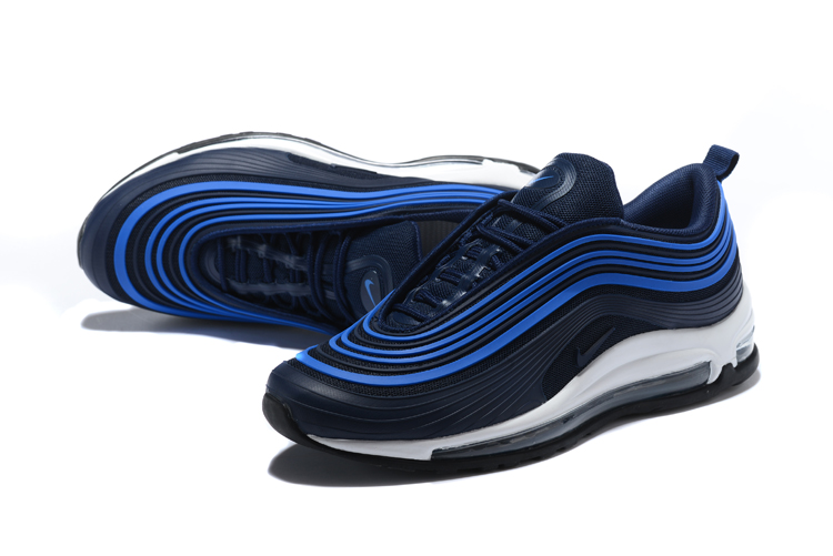2018 Men Nike Air Max 97 Ul Black Blue Shoes 18kobe61911