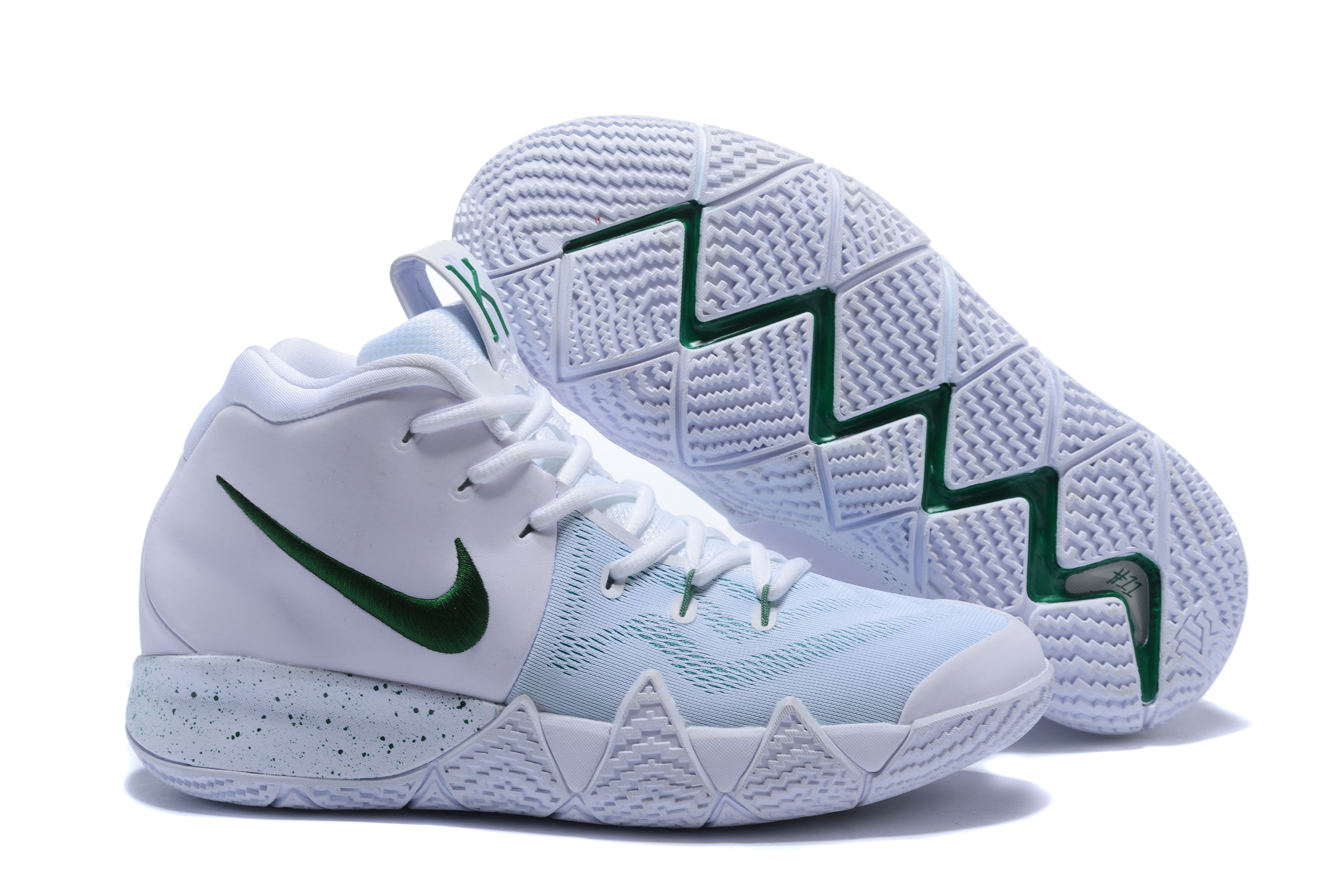 2018 Nike Kyrie 4 White Shoes