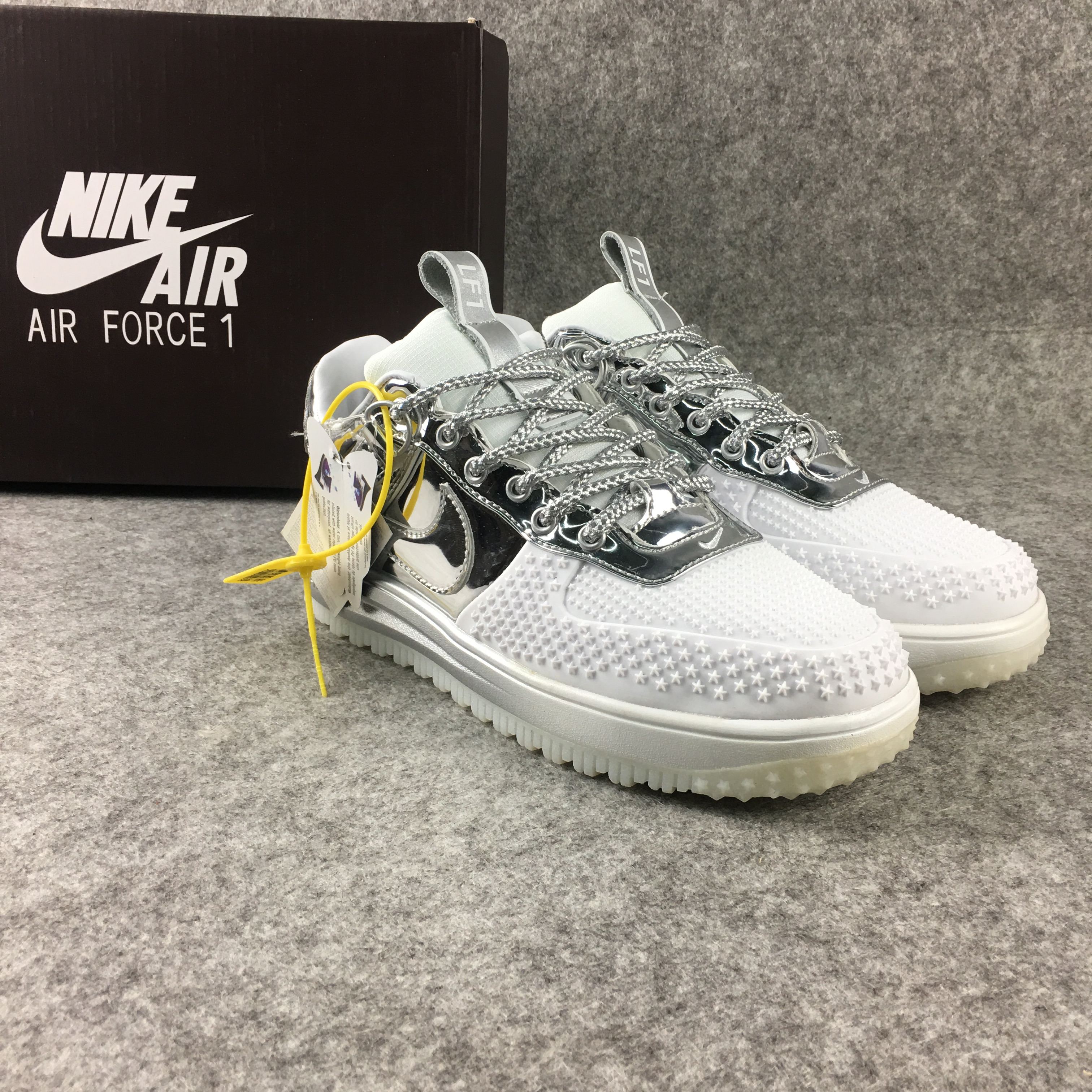 2018 Nike Lunar Force 1 Low Silver White