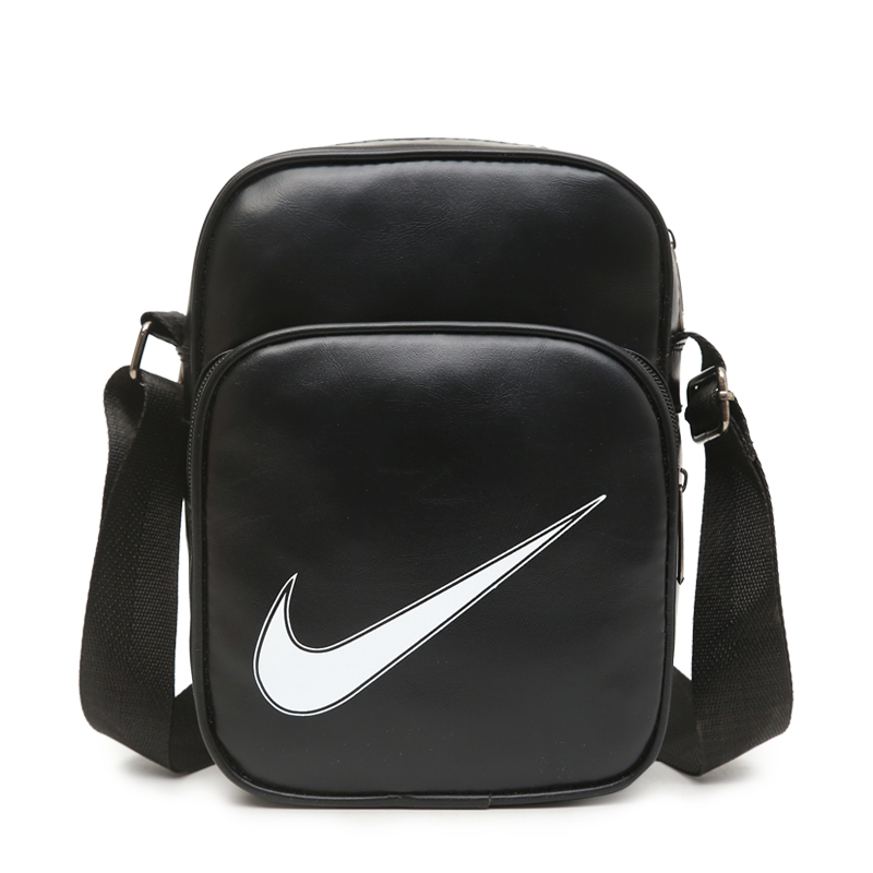 2018 Summer Nike Swoosh Shoulder Bag Black White
