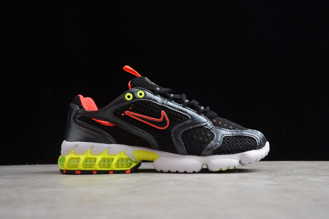 2020 Nike Air Zoom Spiridon Caged 2 Black Red Yellow White For Women