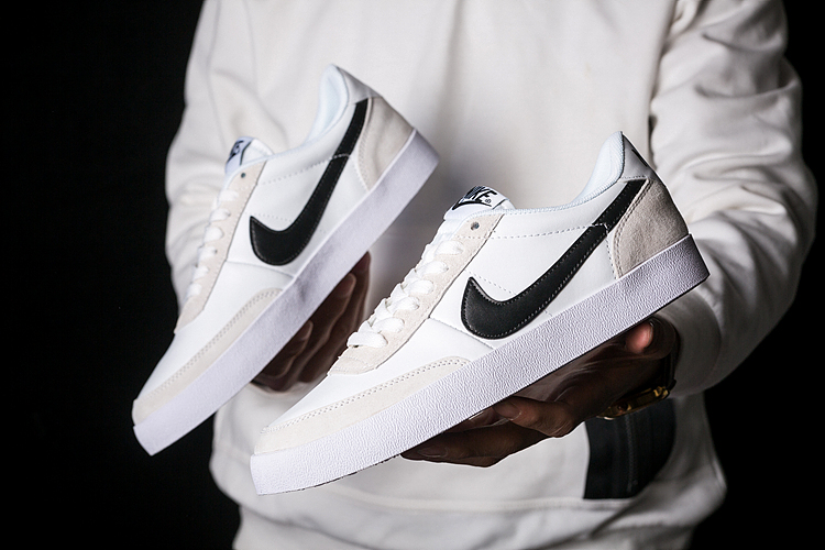 2020 Nike Killshot 2 Leather White Black Swoosh Shoes