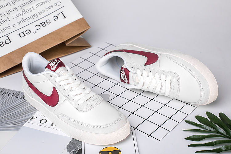 2020 Nike Killshot 2 Leather White Red Shoes