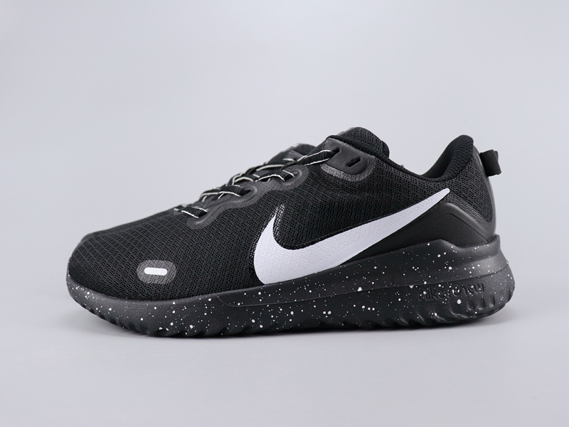 2020 Nike Legned React Black White Swoosh Shoes For Women