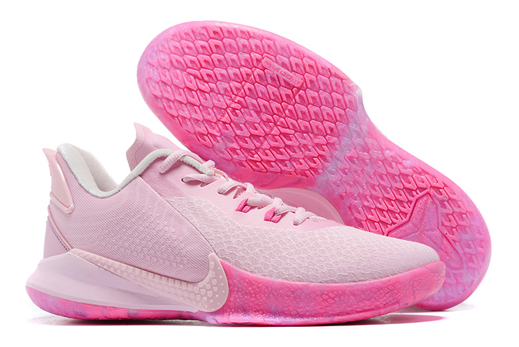 2020 Nike Mamba Focus EP Kobe Breast Cancer Pink Shoes