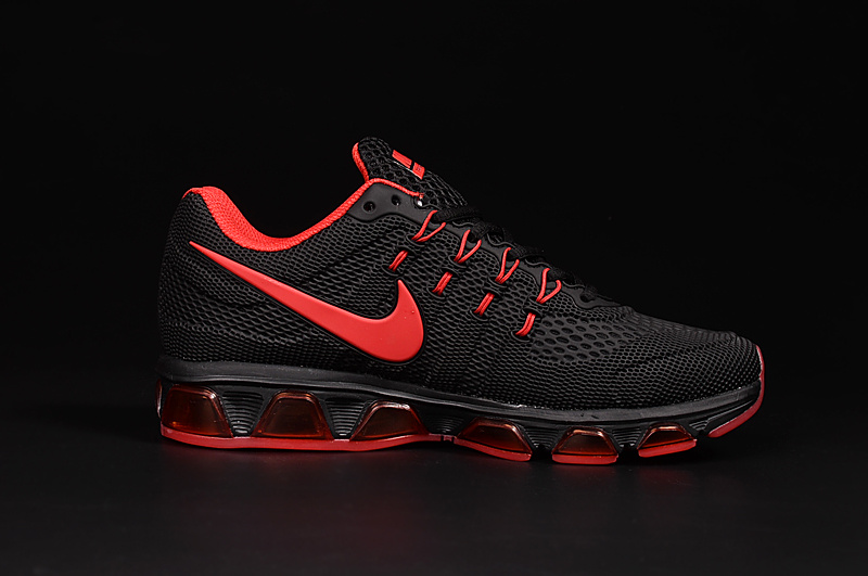 20K8 2010 Nike Air Max Tailwind 8 Black Red KPU Shoes