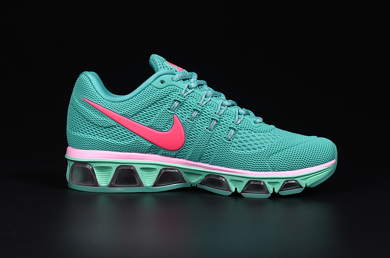 20K8 2010 Nike Air Max Tailwind 8 Green Pink KPU Shoes
