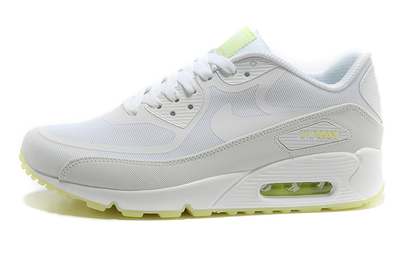 New Nike Air Max 90 All White Shoes