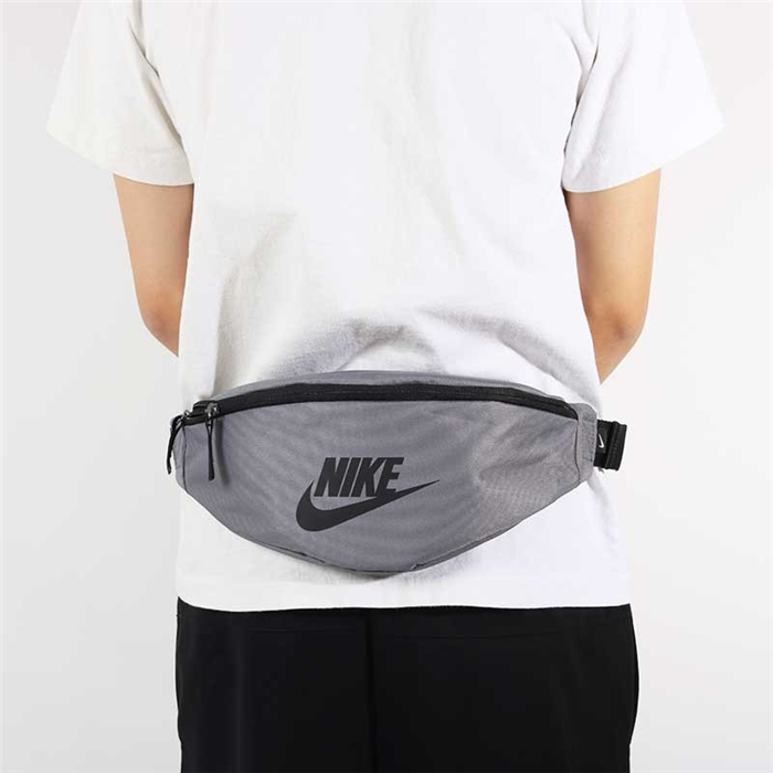 Authentic Nike Waist Bag Grey Black