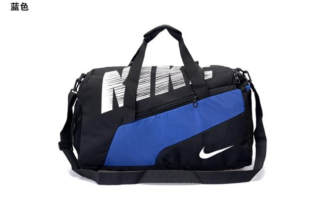 Big Nike Handbag Black Blue White