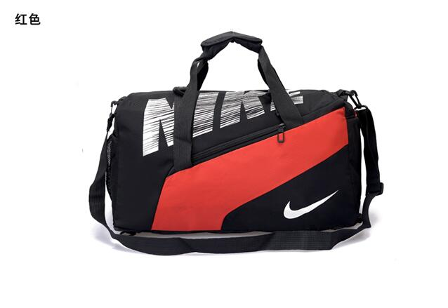 Big Nike Handbag Black Orange White