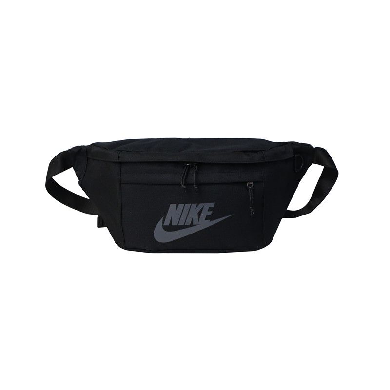 Big Nike Waist Bag Black Grey