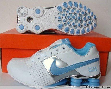 Comfortable Nike Shox OZ D White Baby
