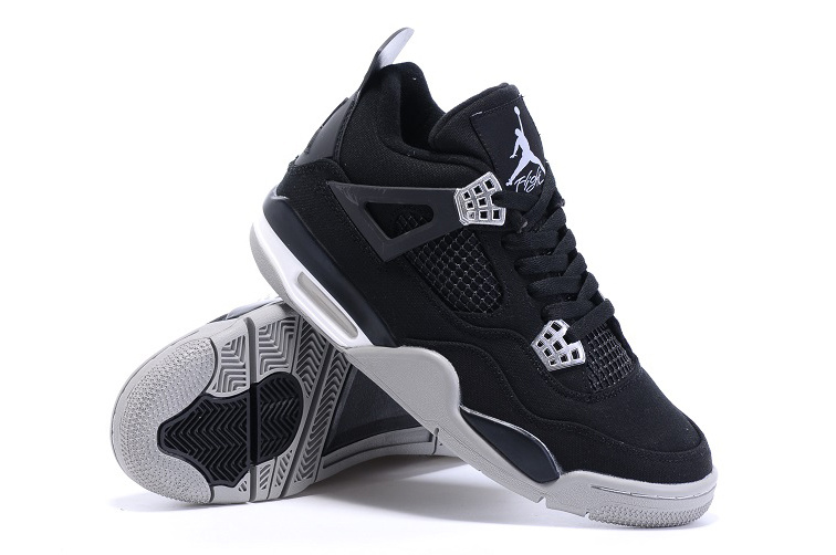 Eminem x Carhartt x Nike Air Jordan 4 Black White Shoes