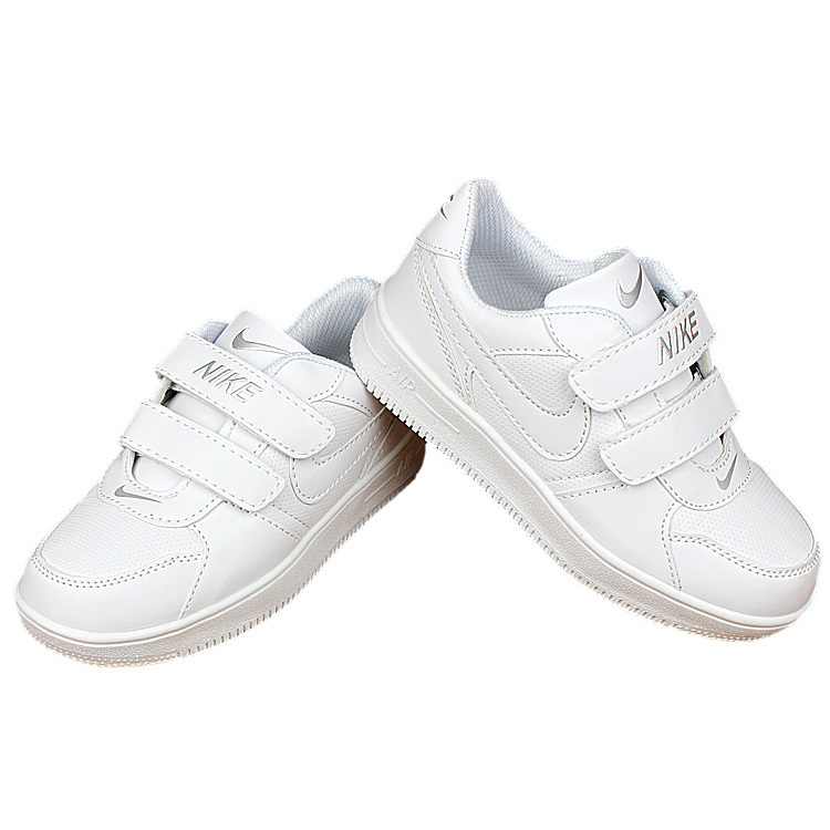 5523f1e0342e Kids Nike Air Force All White Shoes  NKOBE2646  -  53.00   Original ...