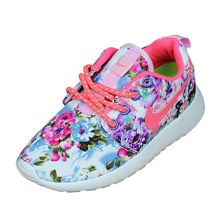 97352007e710e Kids Nike Roshe Run Colorful Shoes  NKOBE2654  -  53.00   Original ...