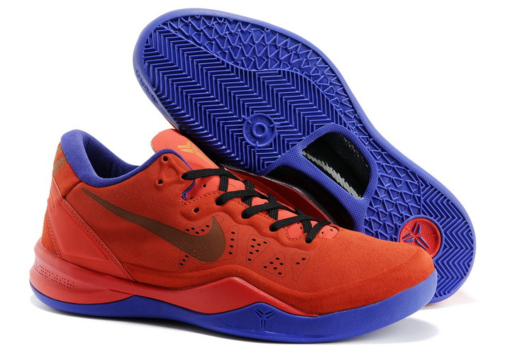 Nike Kobe 8 Shoes The Year Of Snake Edition Orange Purple