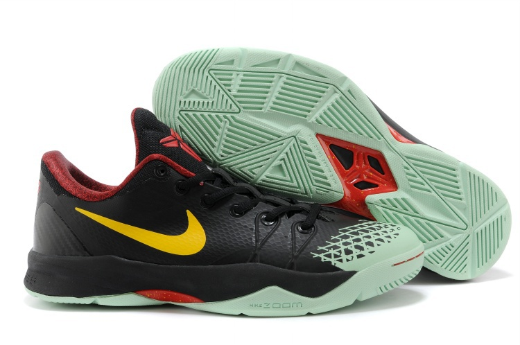 Kobe Bryant Venomenon 4 Black Light Green Yellow Shoes