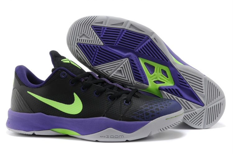 Kobe Bryant Venomenon 4 Black Purple Green Shoes