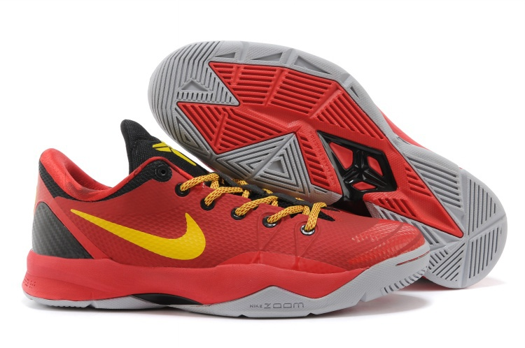 Kobe Bryant Venomenon 4 Red Yellow Black Shoes