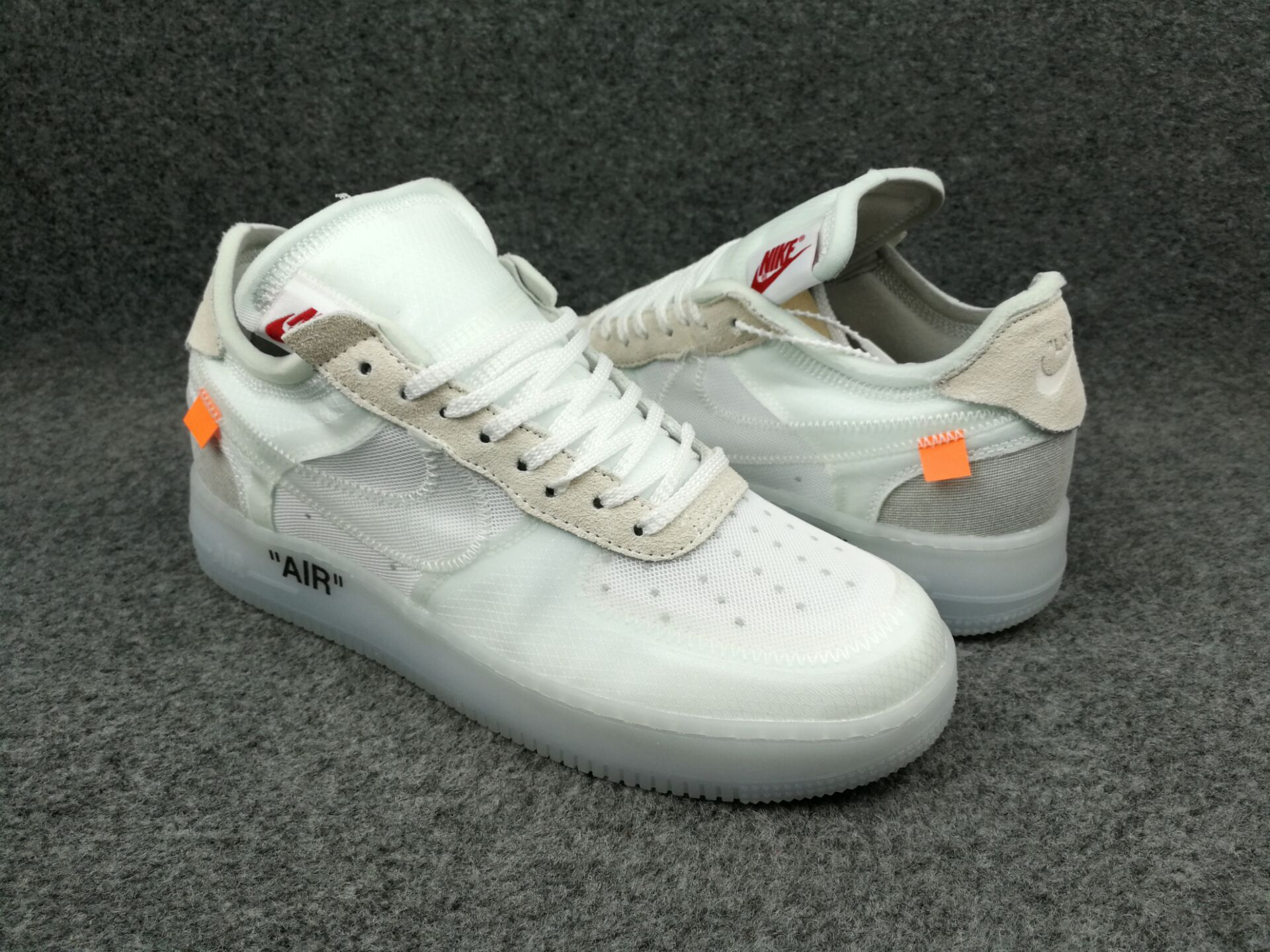 Off-white Nike Air Force 1 Pure White Shoes