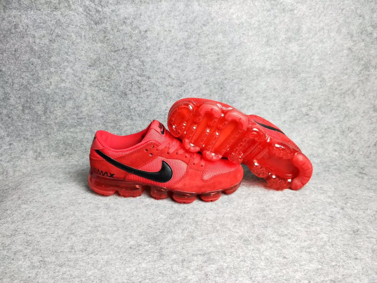 Nike Air MAX 2018 Red Black Shoes