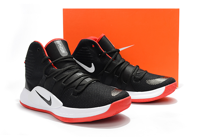Nike Hyperdunk X 2018 Black Red White Shoes