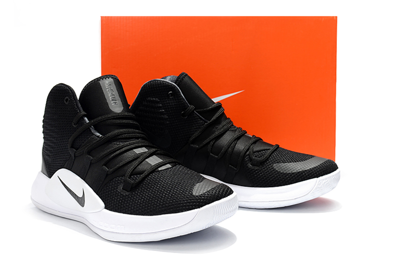 Nike Hyperdunk X 2018 Black White Sole Shoes