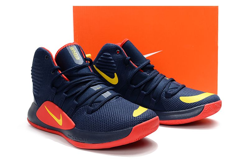 Nike Hyperdunk X 2018 Blue Red Yellow Shoes