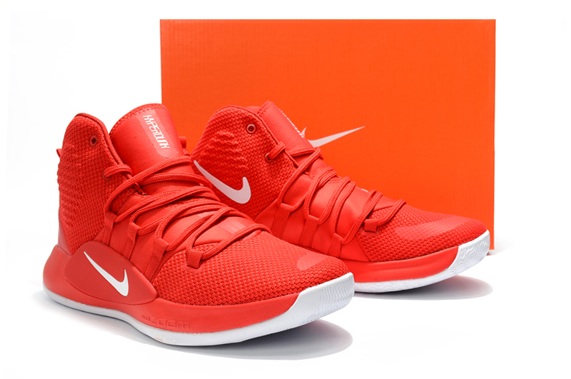 Nike Hyperdunk X 2018 Red White Shoes