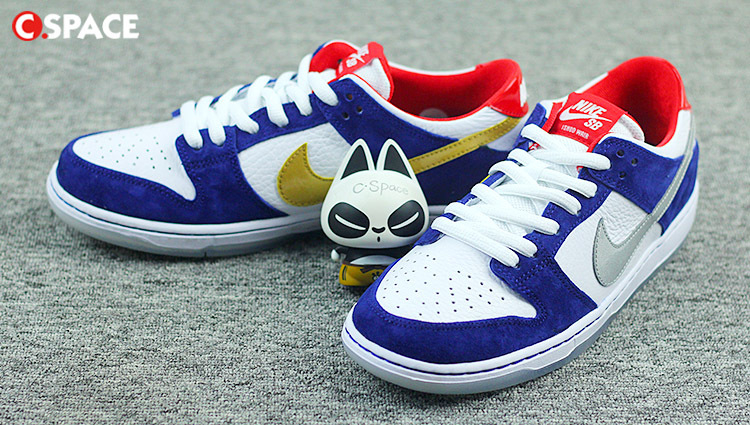 New Nike SB White Blue Red Shoes